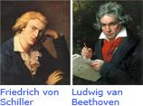 Friedrich von Schiller - Ludwig van Beethoven