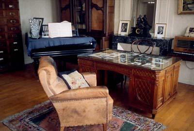 Le bureau de Robert Schuman dans sa maison de Scy-Chazelles
